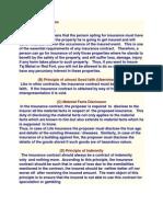Principle of Insurances