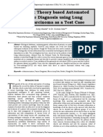 Rough Set Theory based Automated Disease Diagnosis using Lung Adenocarcinoma as a Test Case
