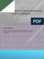Beneficiamento e Tratamento Do Carvao Mineral