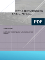 Beneficiamento e Tratamento Do Carvao Mineral