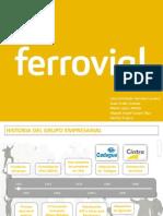 FERROVIAL (Org. Del Trabajo)