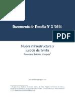 ESTRADA Doc Estudio 3 2014 Nueva Infraestructura y Justicia de Familia