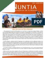 NUNTIA - juin & juillet 2014 (Français)