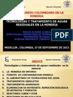 Tecnologias y Tratamiento de Aguas Residuales en La Mineria