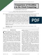 Study and Comparison of CloudSim Simulators in the Cloud Computing