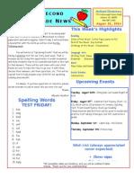 August 22 Newsletter