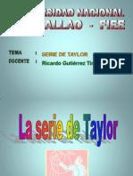 Serie de Taylor.. Casi Ya Esta..Un Toq