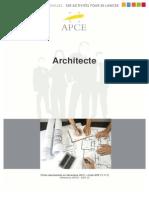 Fiche Métier - Architecte