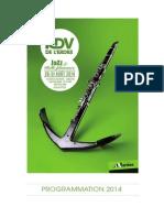 ProgrammationRendezvousErdre  2014-