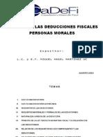 Analisis de Deducciones 2014