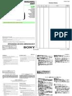 Sony a33 a55 Repairmanual
