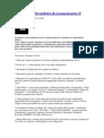 Informações Sobre Palestra de Ex-maçom Grau 33
