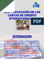 Uso y Aplicacion de Las Cartas de Credito 2013
