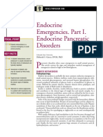 Endocrine Emergencies.part1.Endocrine Pancreatic Disorders