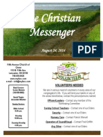 August 24 Newsletter