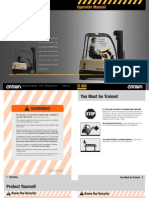 SC4000 Forklift Manual