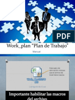 2. Work_plan 2015 3.0 Manual Stdr