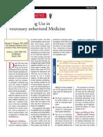 Extra Label Drug Use in Veterinary Behavioral Medicine