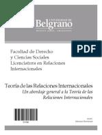 Teoria de Las Relaciones Internacionales - Bartolome