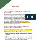Basic Savings Bank Deposit Account