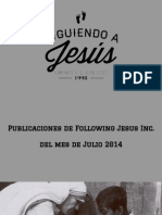 Following Jesus Inc.  Julio 2014