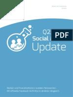 Social Media Update Q2/2014 - deutsche Banken und Finanzinstitute auf Facebook