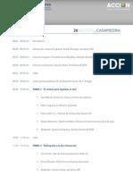 Programa XIV Encuentro RSE y Desarrollo Sostenible.