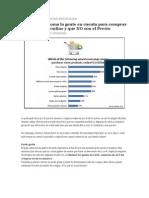 Factores Que Toma La Gente en Cuenta Para Comprar en Una Tienda Online y Que NO Son El Precio