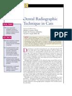 FELINE-Dental Radio Graphic Technique in Cats