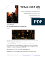 The Dark Knight Rises Screenplay Story Map Free Download Not Final