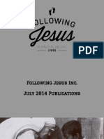 Following Jesus Inc. July 2014