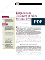 FELINE-Diagnosis and Treatment of Feline Systemic Hypertension
