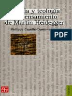 Philippe Capell-Dumont - Filosofía y Teología en El Pensamiento de Heidegger