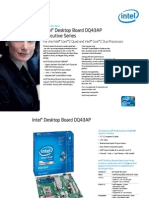 Intel® Desktop Board DQ43AP
