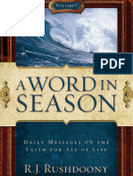 A Word in Season Vol. 5 - R. J. Rushdoony