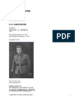 A History of the United States by Chesterton, Cecil, 1879-1918