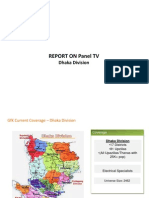 Monthly Mp\onitoring report of TV Sales