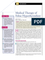 FELINE-Medical Therapy of Feline Hyperthyroidism