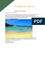 8 Playas Escondidas Para Visitar en Puerto Rico