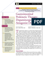 Gastrointestinal Pro Kinetic Theraphy-Dopaminergic Antagonist Drugs