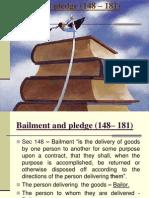 Bailment and Pledge