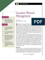 Gunshot Wound Management