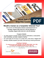 Stop Gap Information Session August 2014 Flyer