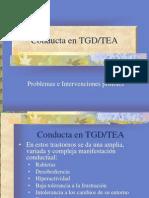 Conducta en TGD