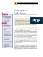 Perianesthetic Arrhythmias