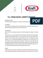 Case summary of A.1. Steak Sauce