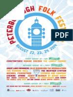 Peterborough Folk Festival 2014 Programme