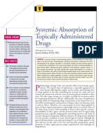 Systemic Absorption of Topically Administered Drugs
