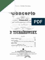 IMSLP105393-PMLP03312-Ciaikovskij - 35 - Violin Concerto D Fs