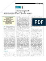 Three-Dimensional Computed Tomography-user -friendly ımages